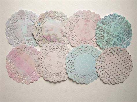 Paper Doily Craft Ideas - paper doilies die cuts craft ideas