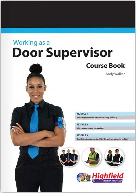 Sia Door Supervisor Course by Consultants And Specialist Providers Dsto