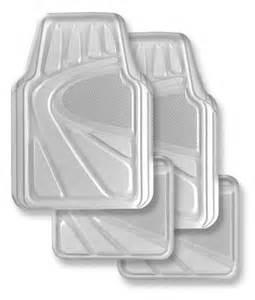Vinyl Auto Floor Mats Kraco R5704clr Premium Clear Vinyl Heavy Duty Auto Floor