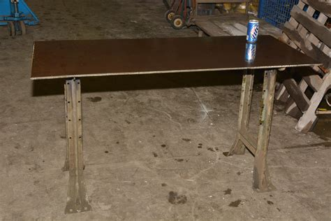 Welding Table For Sale by New Welding Table 57 1 2 Quot X 25 Quot 31 1 2 Quot H 3 8 Quot Steel Top