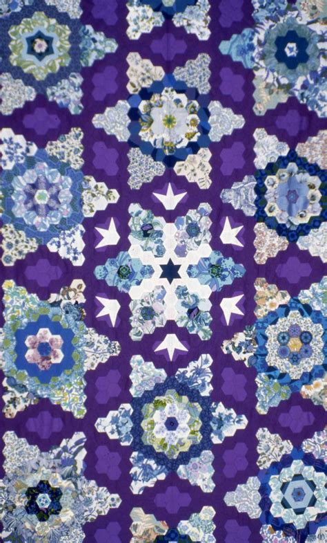 Snowflake Top 17 best images about quilting hexies on