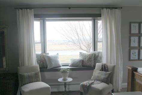 curtain ideas for bay windows bay window treatment ideas living room astana apartments com