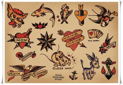 small sailor jerry tattoos 25 sailor jerry tattoos to rock your world