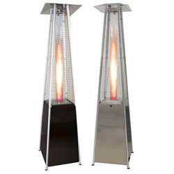 Backyard Heater Pyramid Outdoor Patio Heater Garden Restaurant Deck