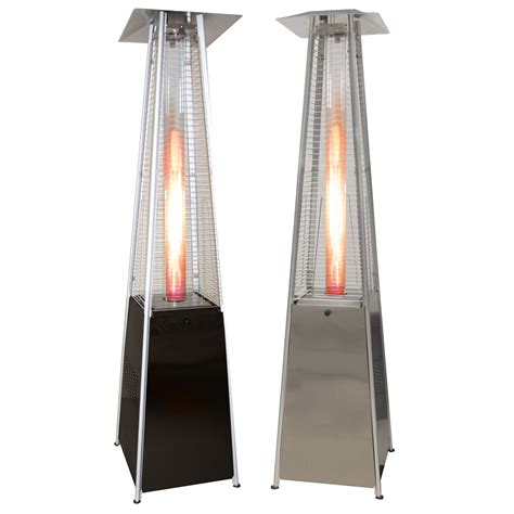 outdoor heater patio pyramid outdoor patio heater garden restaurant deck propane lp gas heaters ebay
