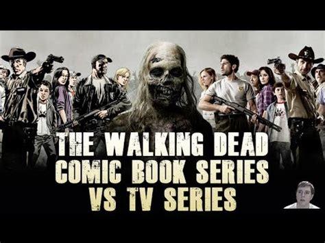 tv couch walking dead the walking dead tv series vs comic book series season 5