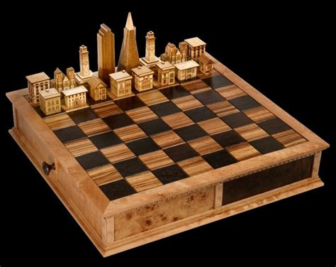 chess set designs steve vigar designs chess set cool material