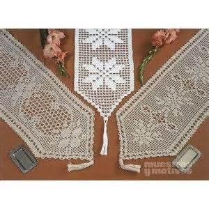 camino de mesa a crochet tres camino de mesa tejido a ganchillo con diferentes