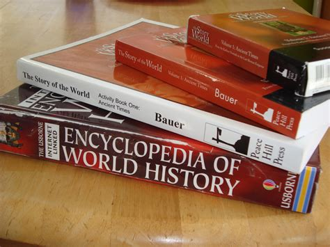 history books history with the well trained mind homeschooling