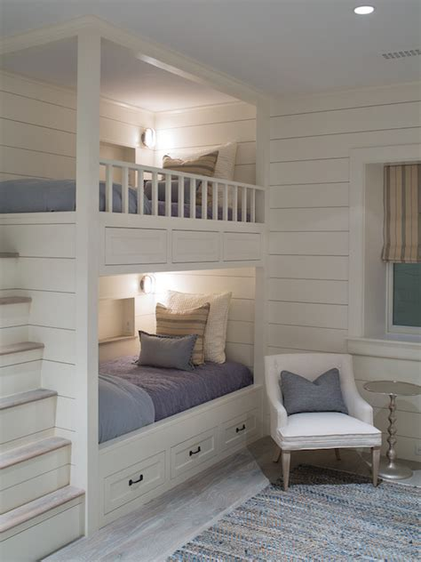 built in bunk beds bunk beds with built in steps transitional boy s room