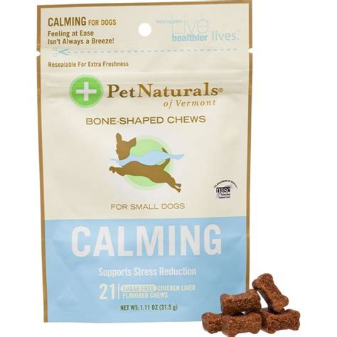 calming chews for dogs pet naturals calming soft chews for dogs 4th of july fireworks are generally a lot