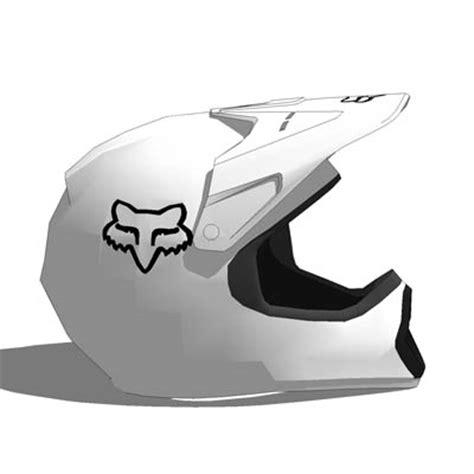 Fox MX helmets 3D Model FormFonts 3D Models & Textures