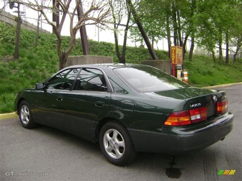 lexus green 1999 woodland green pearl lexus es 300 28461710 photo 7