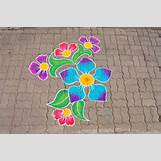 Rangoli Designs With Flowers And Colours   736 x 488 jpeg 186kB
