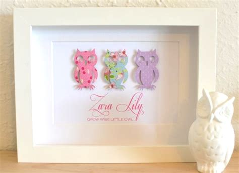 Gorgeous Uniquealised Baby Nursery Gifts Custom Art