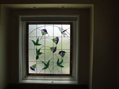 stained glass for bathroom window llj interior design traditional bathroom los angeles