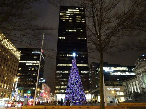 taller than rockefeller vancouver s official christmas
