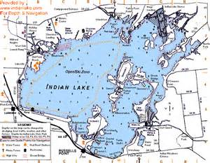 Indian Lake Ohio Map locator map