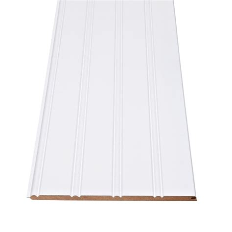 Wainscoting Home Depot Canada by Alexandria Moulding Primed Fiberboard Wainscot Kit 3