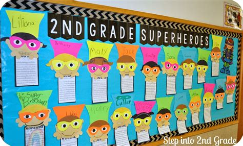 2nd grade ideas our day step into 2nd grade