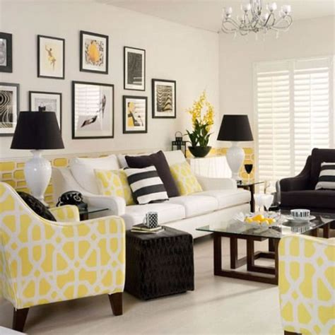 Living Room Yellow Color Scheme Decora Con Amarillo Tu Living Y Comedor