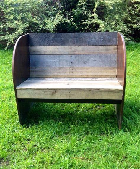 diy reclaimed wood bench pallet and reclaimed wood bench pallet furniture diy