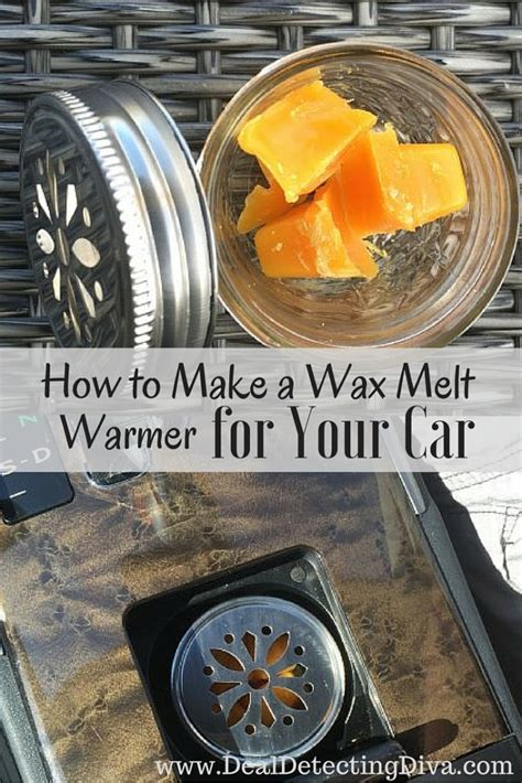 how to make wax how to make a wax melt warmer for your car