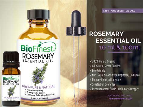 Folives Rosemary Essential 100 Essential biofinest 100 rosemary essential best for aromatherapy