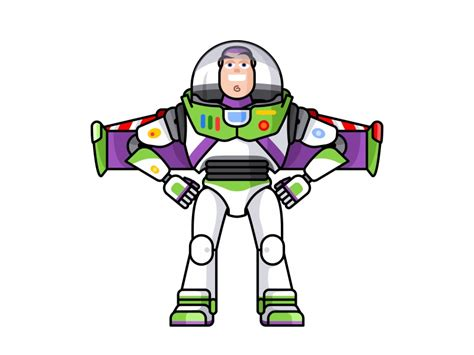 buzz lightyear  aleksandar savic  dribbble