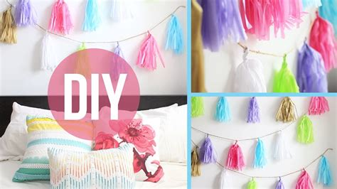 diy decorations laurdiy diy room decor anthropologie inspired garland