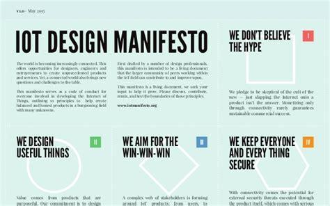 design manifesto definition thingscon amsterdam 2015 iot design manifesto workshop
