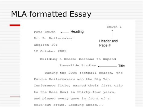 essay format header tips for draft two of your essay ppt download