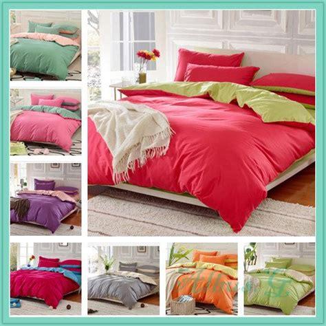 Cotton King Size Duvet Set 100 Cotton 4 Bedding Set Duvet Cover Contrast