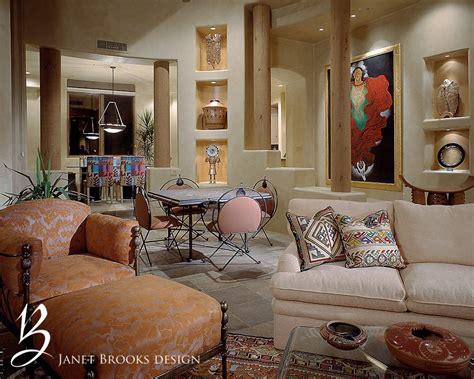southwestern interior design janet brooks design