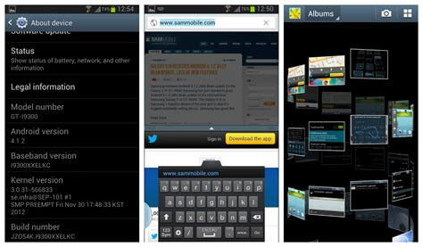 android 4 1 2 update international galaxy s3 now receiving android 4 1 2 update with split screen multi view
