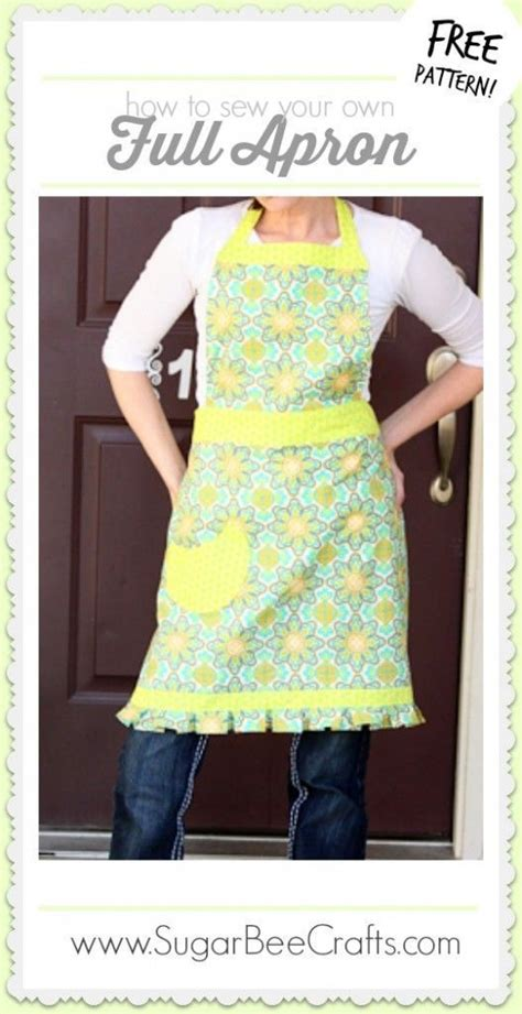 apron pattern step by step full apron tutorial free pattern sew and how to sew
