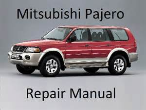 Mitsubishi Pajero Repair Manual Mitsubishi Pajero 1999 2006 Repair Manual Service Repair