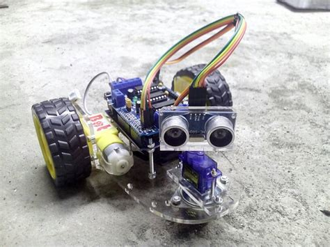 L293d By Tokoarduino robot arduino avoider avoidance robot arduino penghindar