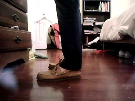 vans boat shoes on feet sperry top sider saharas on feet youtube