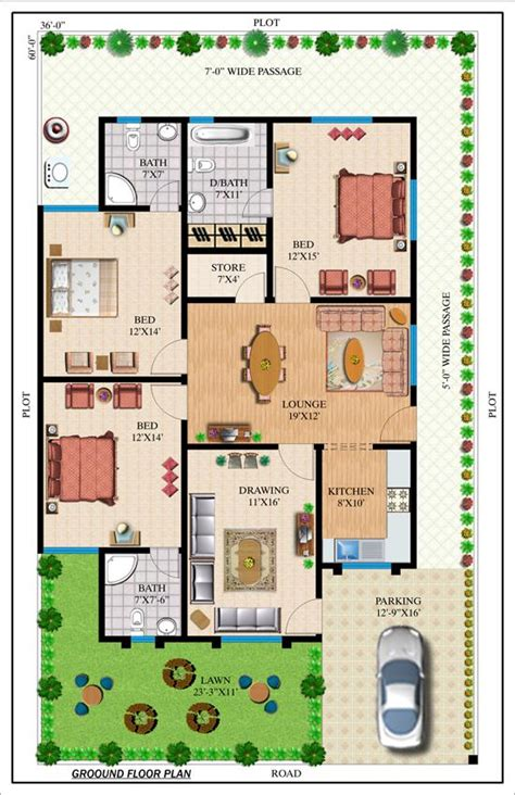 House Plans With Separate Inlaw Apartment by House Plan In Karachi Pakistan Home Design And Style