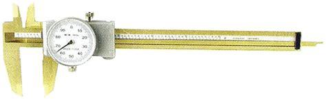 0 6 Inch Dial Caliper Tin Coated Mitutoyo Starrett Lufkin