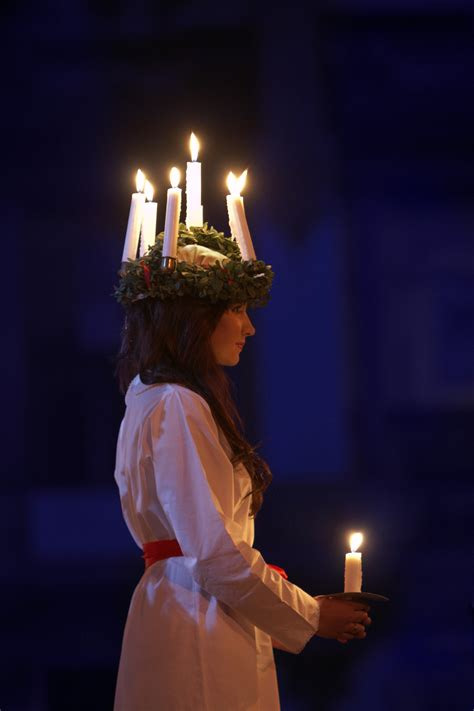 christmas in sweden photo swedish traditions lucia your living city