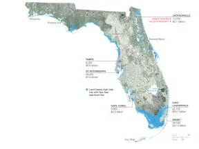 treading water map florida in 2100 national
