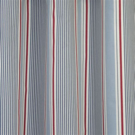 home decor fabric nautical sail stripe light blue