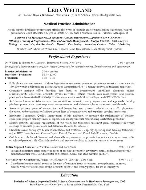 Hospital Receptionist Resume by Hospital Receptionist Resume Free Sles Exles