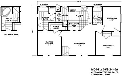 24x40 House Plans 24x40 Frontier Certified Floor Plan 28 Images 24 X 30 1 Bedroom House Plans Certified Homes