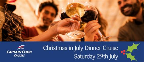 christmas in july dinner cruise perth eventfinda