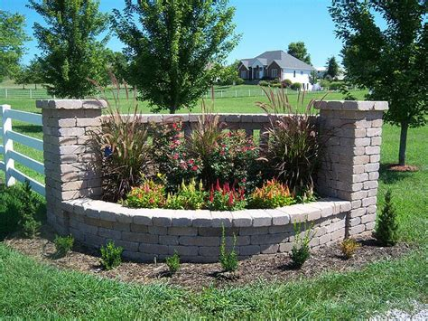 Driveway Gardens Ideas Pictures Of Driveway Entrances Landscaping Indian Creek