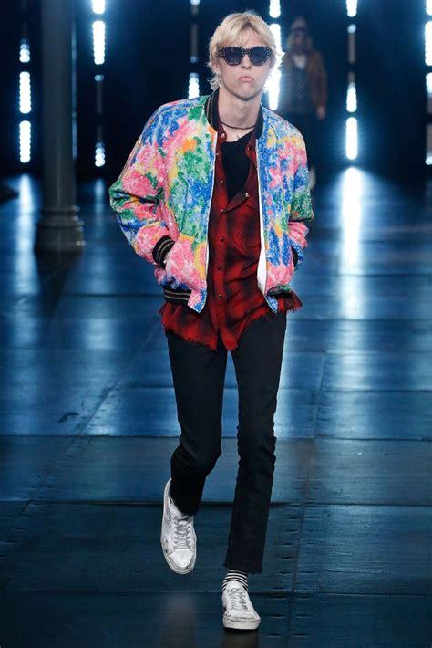 saint laurent springsummer  menswear collection paris fashion week  fashionisto
