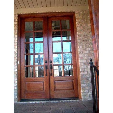 Ebay Exterior Doors Doors Rustic Knotty Alder Oak Mahogany Interior Exterior Glass Ebay Quot 10 Lite Quot For The